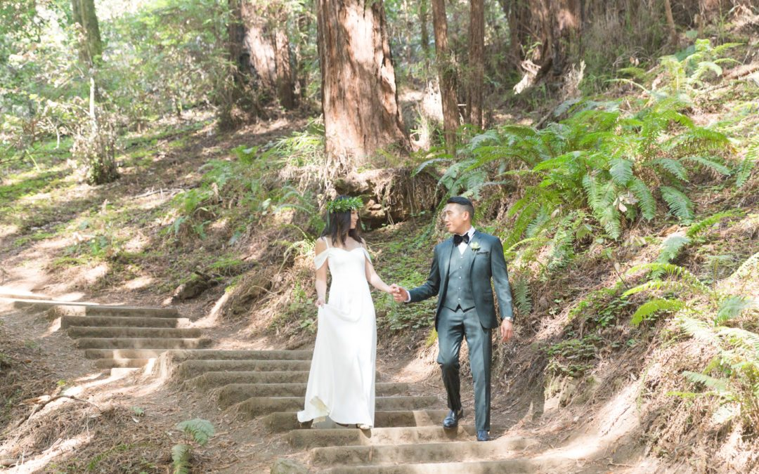 Brian and Virginia's Muir Woods Wedding