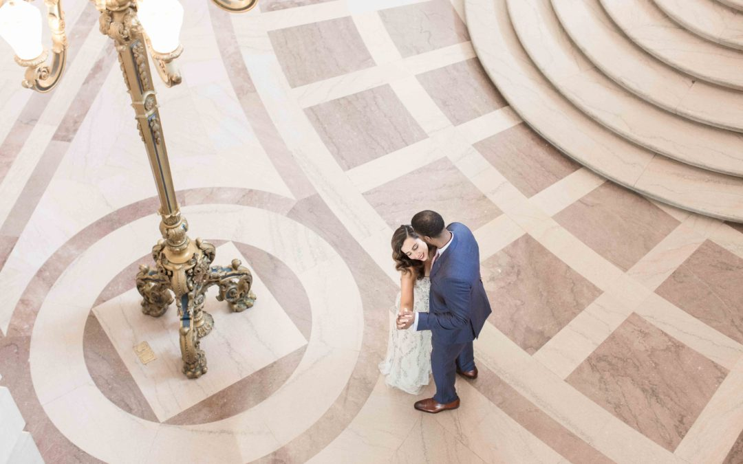Sandra & Mathew's  San Francisco City Hall Wedding