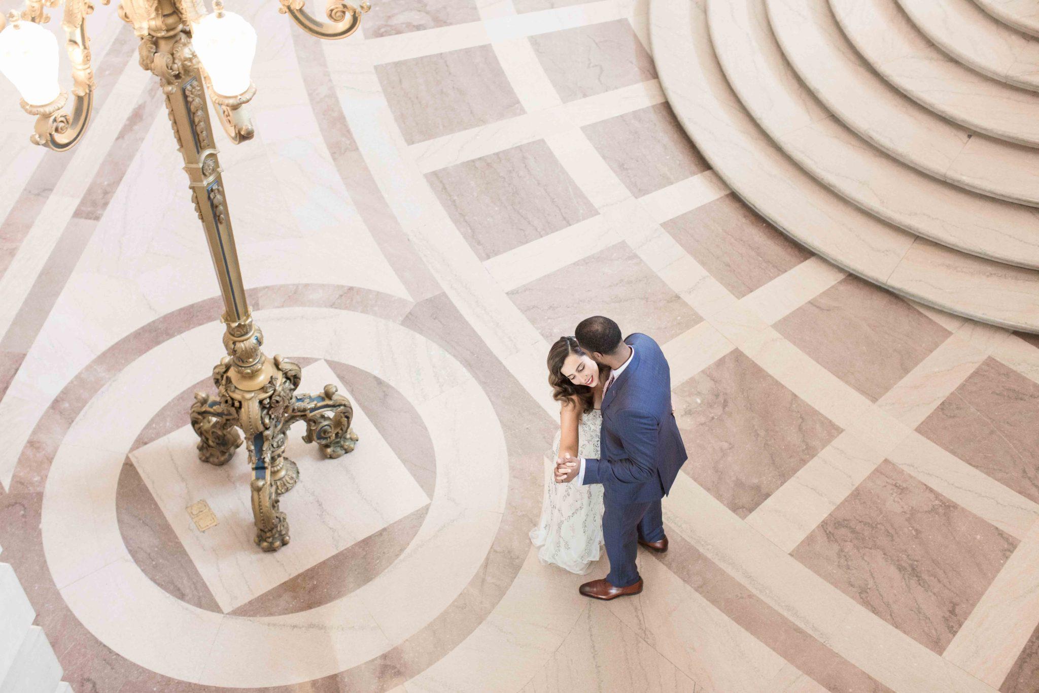 Sandra & Mathew's  San Francisco City Hall Wedding