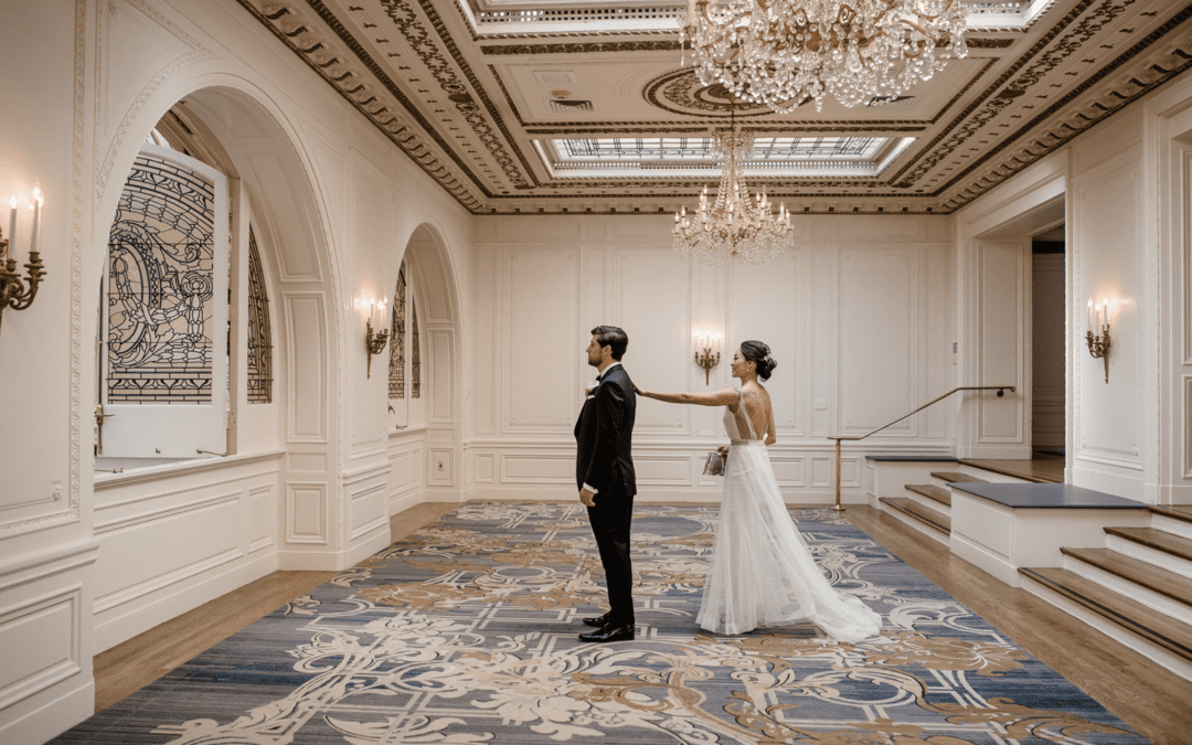 The Palace Hotel Wedding In San Francisco