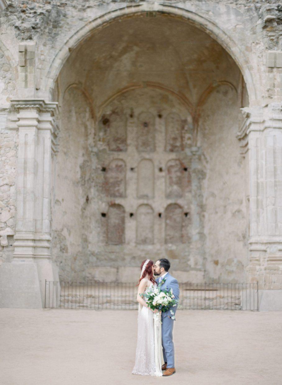 San Jaun Capistrano wedding portraits