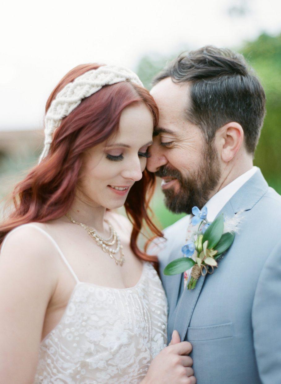 film image at the San Clemente wedding venue