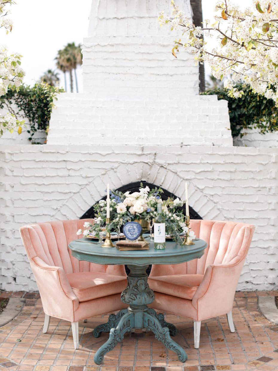 sweetheart table for two