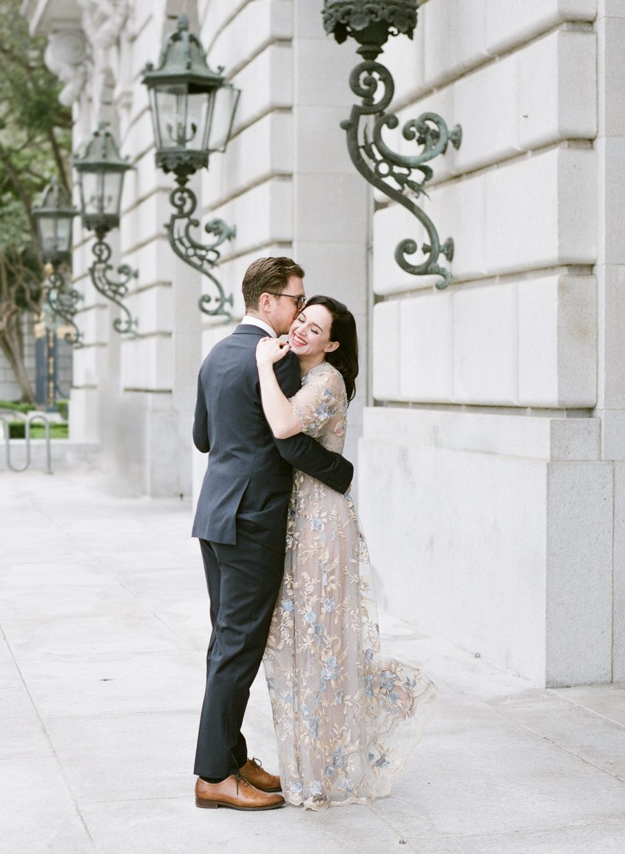 Lena Hall and Justin Stein engagement photos