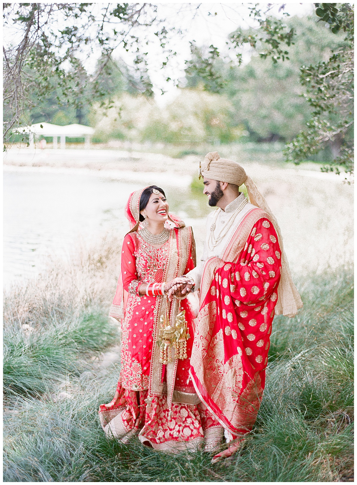 Punjabi wedding at the Ritz Carlton