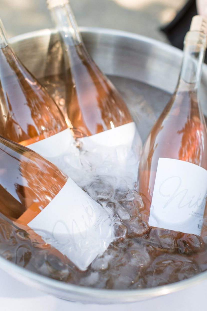Niki Wentes Rosé chilled to perfection