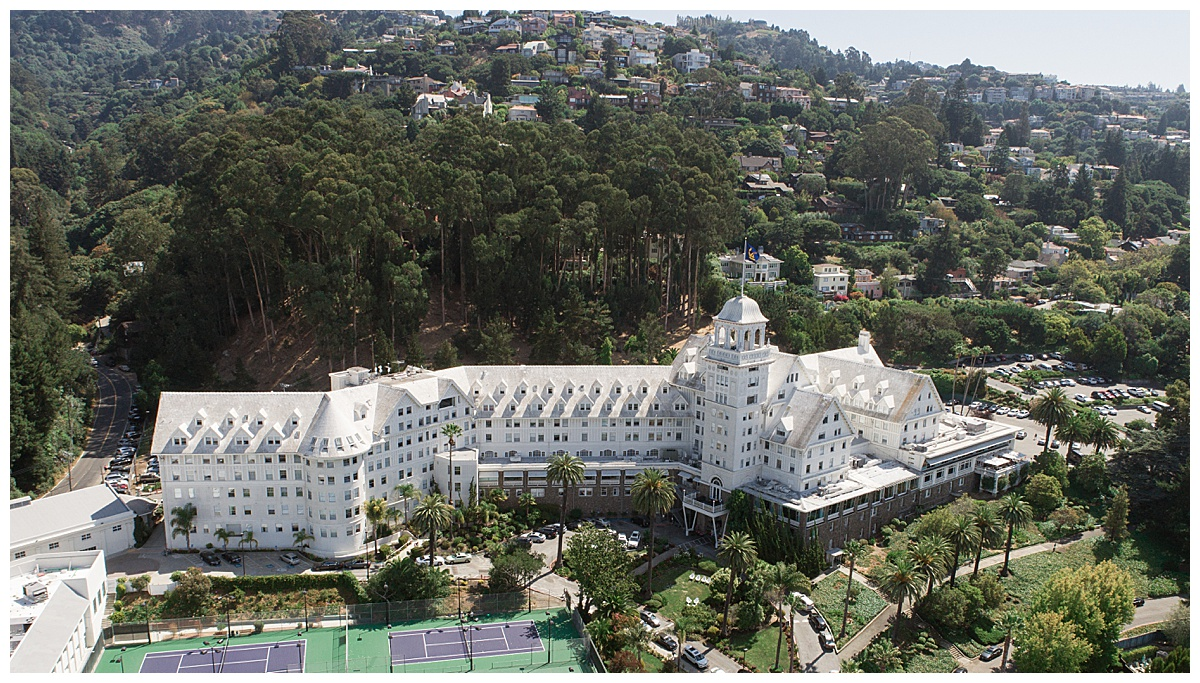 Claremont Club and Spa Drone photo