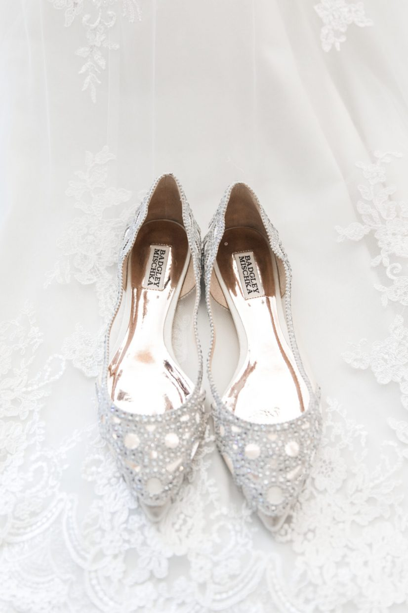 badgley mischka flats for bride