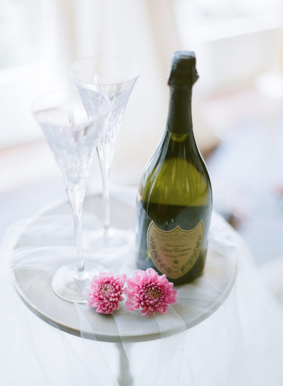 dom perignon wedding champagne