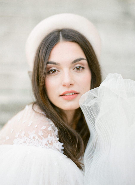 Gorgeous Bride in Paris