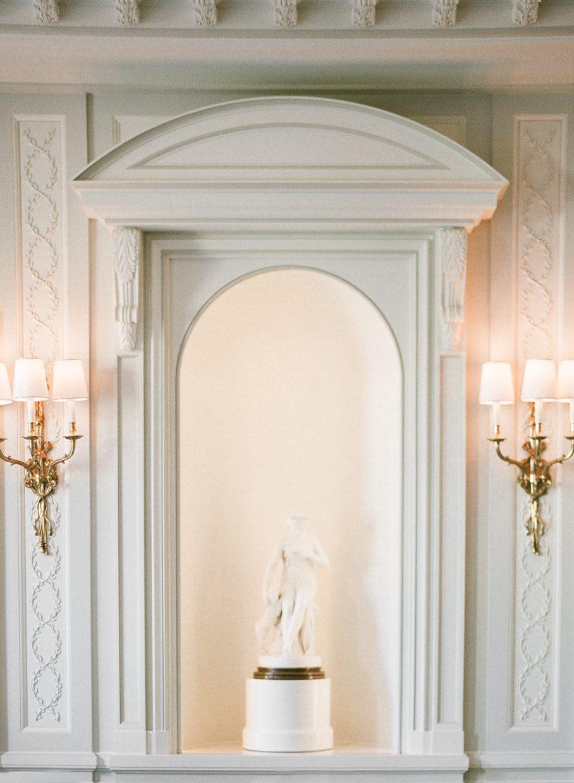 Decor at the Ritz Carlton in Paris