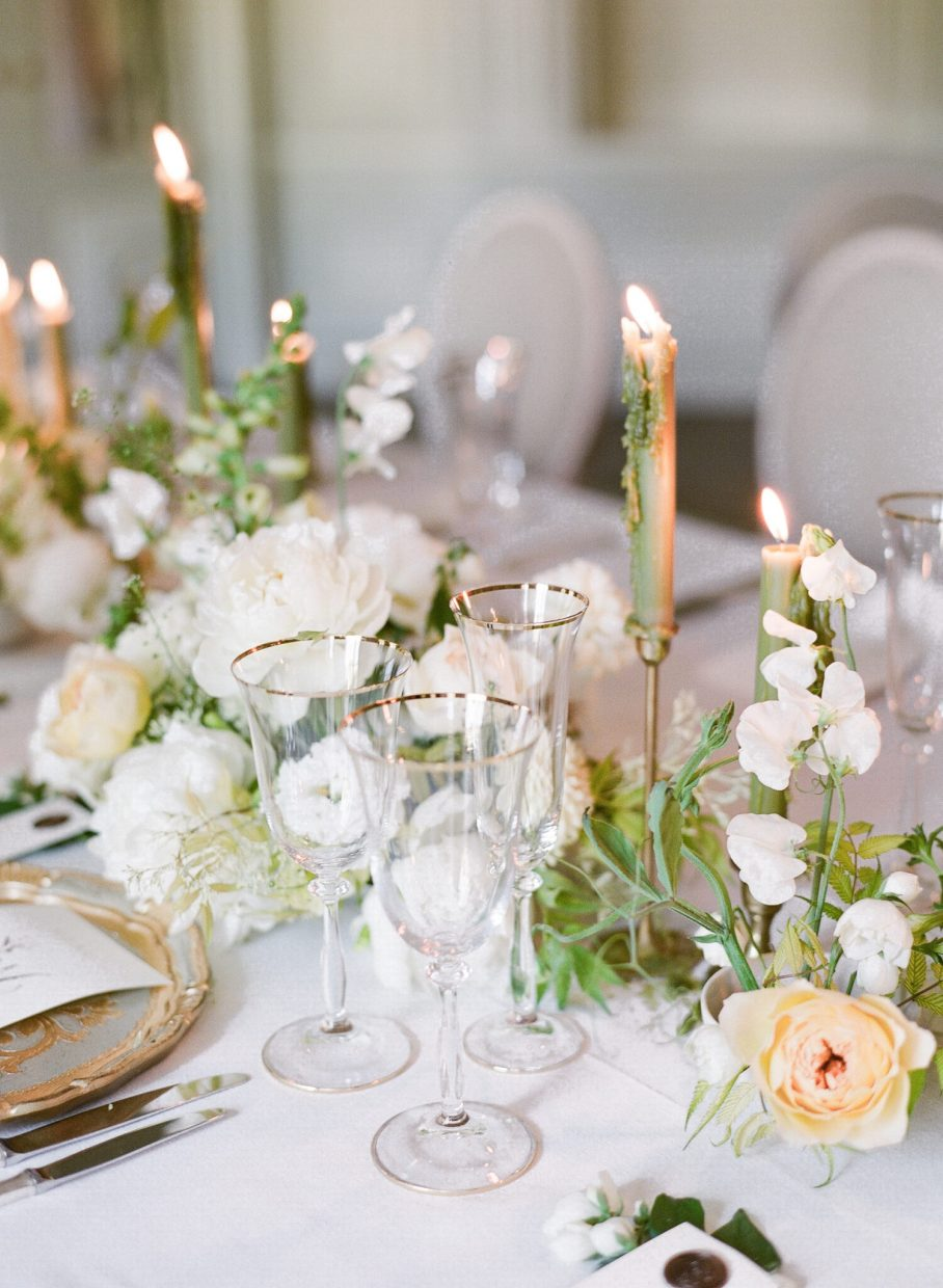 Wedding florals in Paris by Floraison