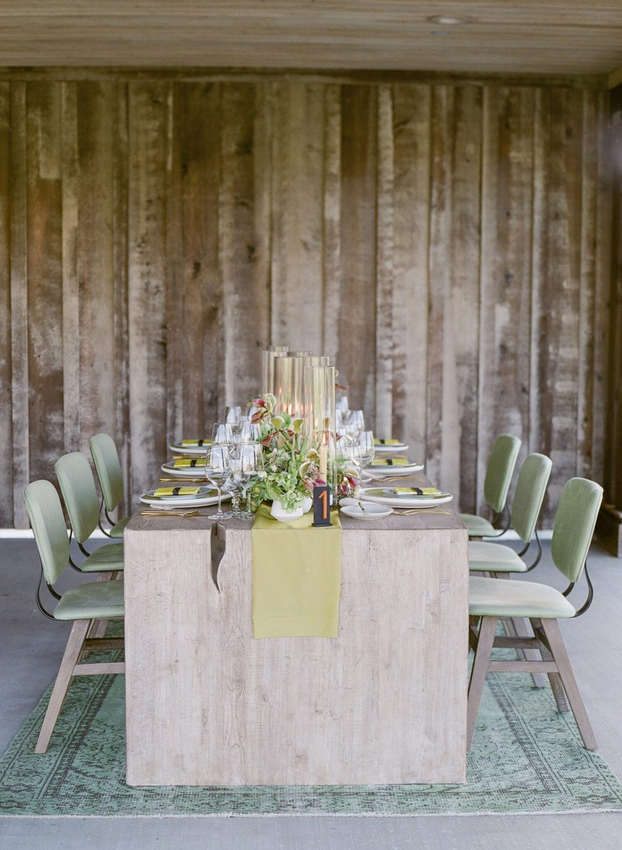 Rebecca Yale table inspiration by Blue Note Weddings