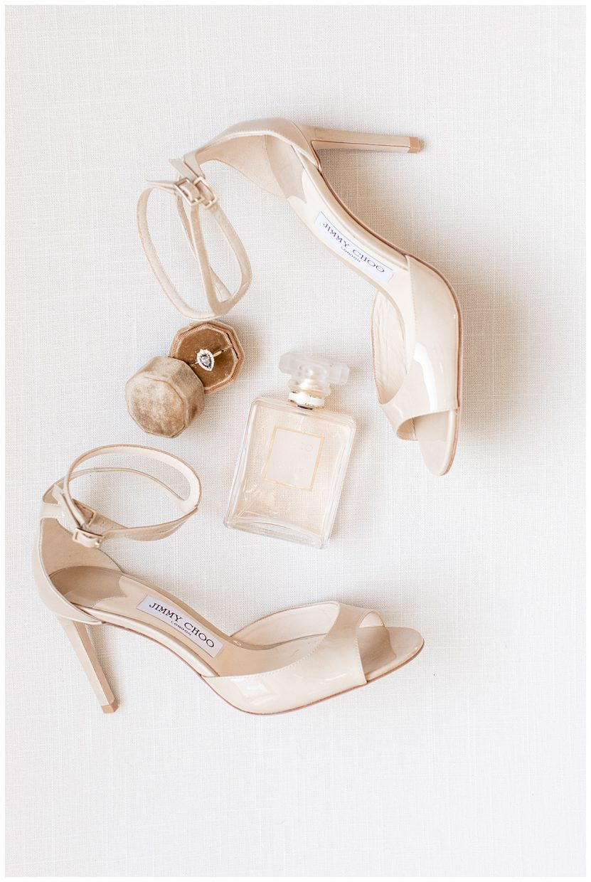 Jimmy Choo wedding shoes that are comfortable
