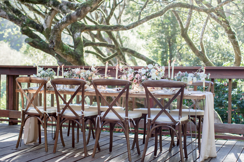 long wedding table design