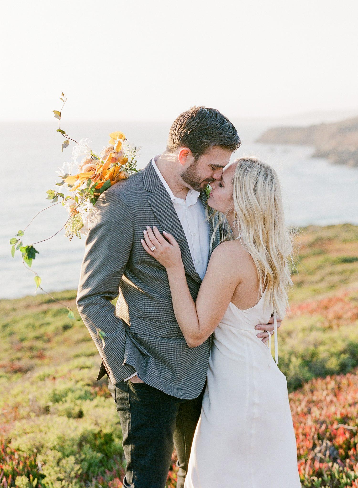 cliffside Marin Headlands elopement